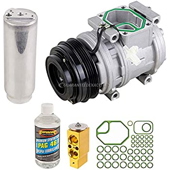 AC Compressor w/A/C Repair Kit For Toyota Tacoma 1996-2004 - BuyAutoParts 60-80206RK New