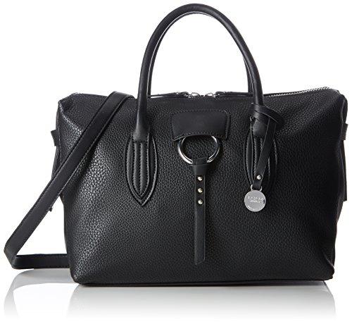 L.credi Amica, sac à main pour femmes noires (noir 1)