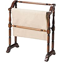 Butler Specialty Company 5020024 Lillian Plantation Blanket Rack, Cherry