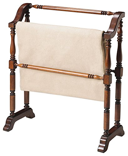 Butler Specialty Company 5020024 Lillian Plantation Blanket Rack, Cherry by Butler Specialty Company