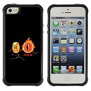 Jordan Colourful Shop@ Flaming Eye & The Ring Funny Rugged hybrid Protection Impact Case Cover For iphone 5S CASE Cover ,iphone 5 5S case,iphone5S plus cover ,Cases for iphone 5 5S