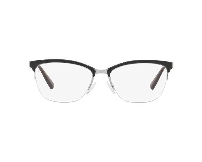 Emporio Armani 0EA1066, Monturas de Gafas para Hombre, Gunmetal/Black, 52