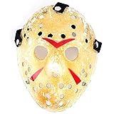 edealing(TM) 1PCS Gold Vintage Jason Voorhees Freddy Hockey Halloween Masquerade Mask