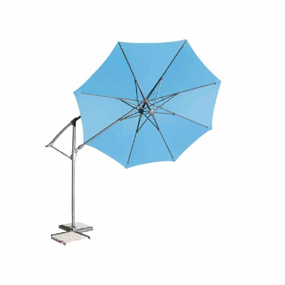 Amazon.de: Siena Garden 673238 Catania Ampelschirm Bezug grau ...