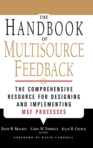 The Handbook of Multisource Feedback