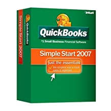 QuickBooks Simple Start 2007 [OLDER VERSION]