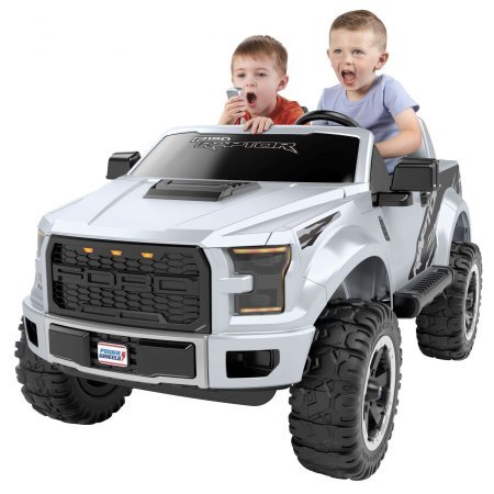 Ford F-150 Power Wheels Raptor Extreme, Silver By Dreamsales (Ford Wheels F150 Power)