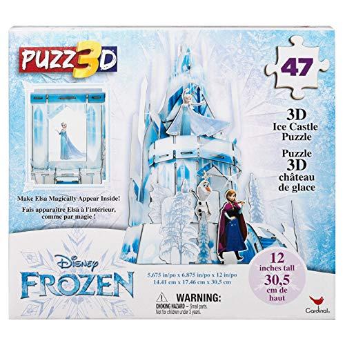 Cardinal Games 6052495 Disney Frozen 2 Puzz 3D 47Piece Plastic 3D Puzzle, Multicolor