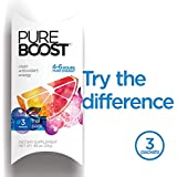 Pureboost Clean Antioxidant Healthy Energy Drink Mix. Powerful 4-6 Hour Boost. No Sugar or Sucralose with B12, 25 Micronutrients, Electrolytes. (Trial Pack, 3 Count)