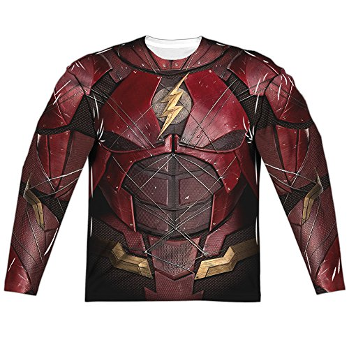 The Flash Costume -- Justice League Movie All-Over