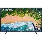 "Samsung UN55NU7100FXZC 55"" 4K Ultra HD Smart LED TV (2018), Charcoal Black [CA Version]"