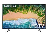 "Samsung Home Entertainment UN55NU7100FXZC 54.6"" 4K Ultra HD Smart LED Television (2018), Charcoal"