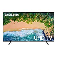 "Samsung UN65NU7100FXZC 65"" 4K Ultra HD Smart LED TV (2018), Charcoal Black [Canada Version]"