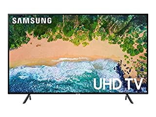 "Samsung UN55NU7100FXZC 55"" 4K Ultra HD Smart LED TV (2018), Charcoal Black [Canada Version] (B07BZ8YP8D) 