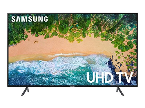 "Samsung UN55NU7100FXZC 55"" 4K Ultra HD Smart LED TV (2018), Charcoal Black [Canada Version]"