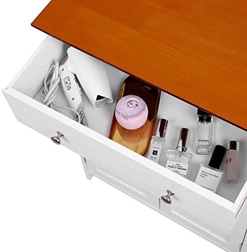 home, kitchen, furniture, accent furniture,  storage cabinets 12 picture VASAGLE Free Standing Bathroom Storage Drawer and Adjustable in USA