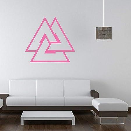 guijiumai 40 Colores Vinilo Adhesivo de Pared triángulos ...