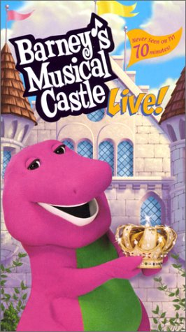 Barney's Musical Castle [DVD 5][Latino]