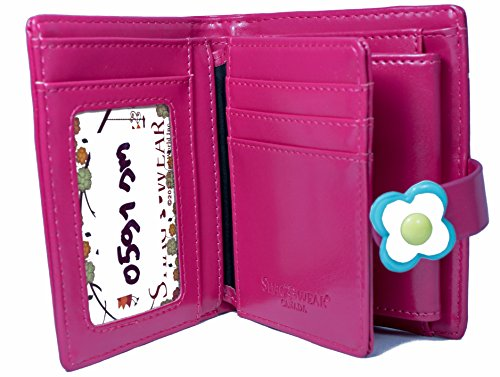 colors Orchards and Ladies Wallet Fuschia Young designs The Bench orange Various Shagwear Small Park Purse HYg44qw