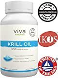 Best Natural Krill Oils - Viva Labs Krill Oil - 100% Pure Cold Review
