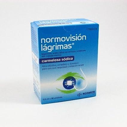 NORMOVISION LAGRIMAS ESTERIL MONODOSIS 0.8 ML 30 UNIDOSIS