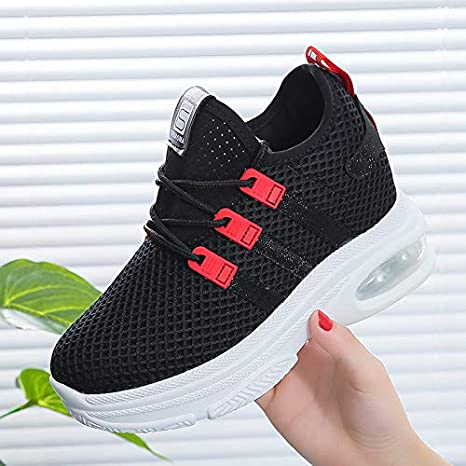 Shoe House Zapatos Deportivos para Mujer Zapatillas Zapatillas Running Road,Black,EU35/US5B(M)/UK3: Amazon.es: Deportes y aire libre