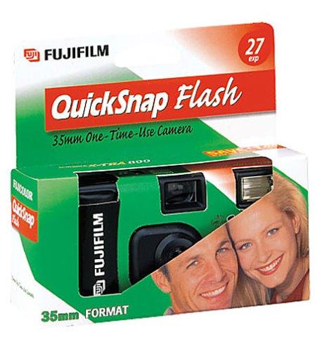 Fujifilm Quick Snap Flash 4 Pack  35mm Single Use Camera by Fujifilm