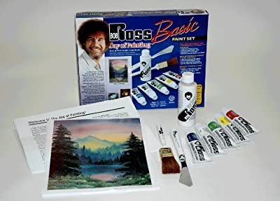 Bob Ross Basic Paint Set - Great to Start with Oil Painting