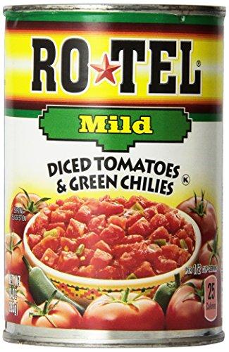 Ro Tel Tomato Diced Milder(Pack of 6)