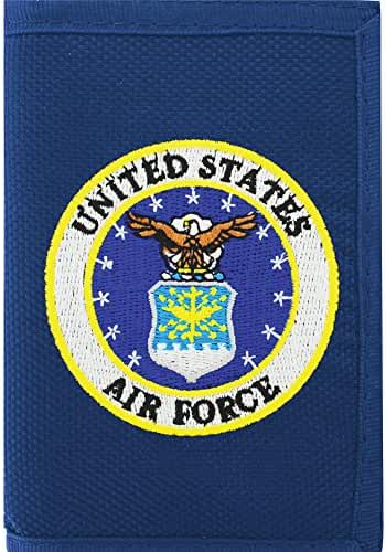 US Air Force Trifold Direct Embroidered Wallet