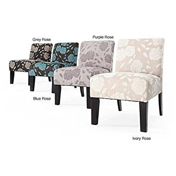 Brilliant Amazon Com Roses Deco Accent Chair These Living Room Unemploymentrelief Wooden Chair Designs For Living Room Unemploymentrelieforg