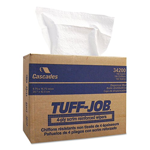 CSD34200 - Tuff-Job Scrim Reinforced Wipers by Cascades Tissue Group