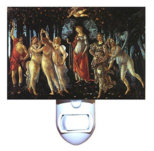 (La Primavera by Botticelli Decorative Night Light)