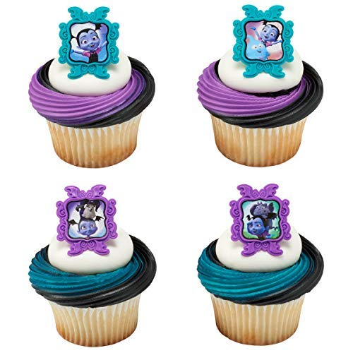 24 Vampirina Cupcake Rings Toppers Birthday Party