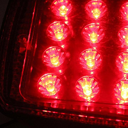 2 St/ück R/ücklicht Anh/änger HEHEMM Rueckleuchte Anhaenger 36 LED 12V Universal R/ücklichter R/ückleuchten f/ür KFZ Anh/änger Licht Komplett mit Gl/ühlampen