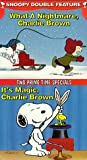 Snoopy Double Feature Vol. 6 (What a Nightmare/It's Magic) [VHS]