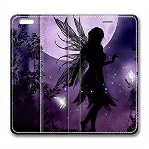 iCustomonline Moon Fairy Protective Leather Case for iPhone 6 Plus( 5.5 inch)