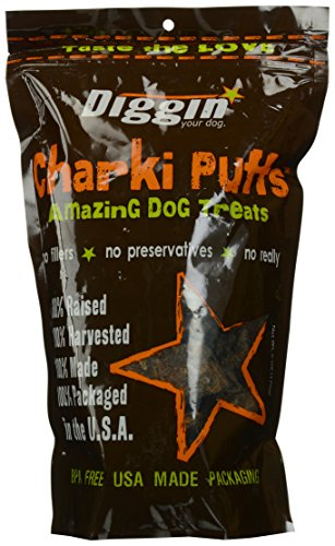 Diggin' Your Dog Charki Puffs Amazing Dog Treats