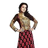 Bollywood Amisha Patel Brasso Suit in Black Colour 7007