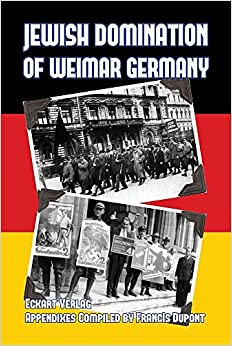 Book Jewish Domination of Weimar Germany