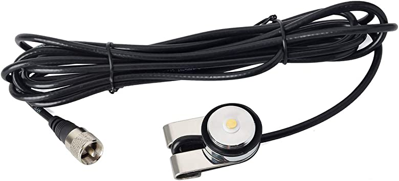 HYS vehículo coche NMO antena conectar RG-58 cable ...