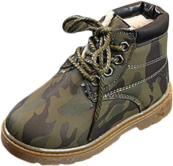 Amazon.com: Kasien - Zapatos para bebé, niños camuflaje para ...