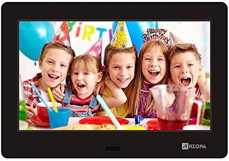 ARZOPA Marco Digital para Fotos y Vídeos,7 Pulgadas Marco de Fotos Digita con Pantalla de Alta resolución del Cuadro Apoyar MP3 MP4 Vídeo con Calendario Features y Remote Control: Amazon.es: Electrónica