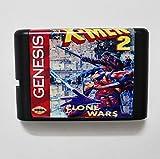 Taka Co 16 Bit Sega MD Game X-men 2 Clone Wars 16 bit MD Game Card For Sega Mega Drive For Genesis