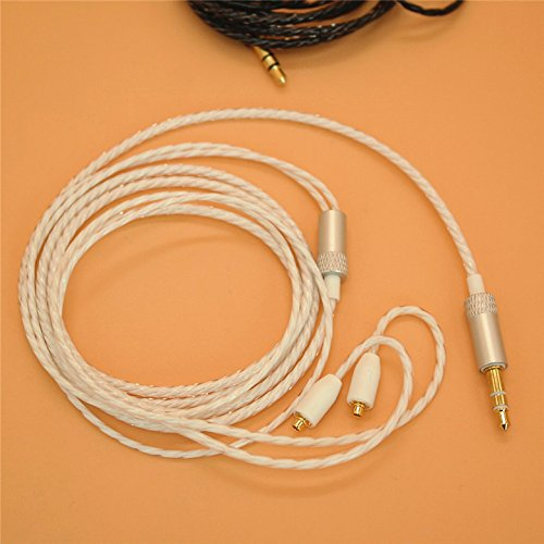 YDYBZB Headphones Cable -MMCX Cable Detachable Earphones Replacement Cable for Shure SE215/315/