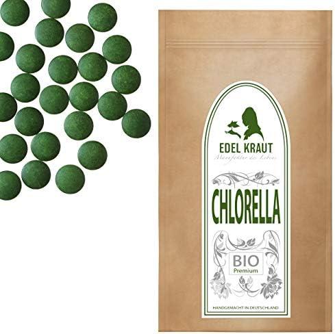 EDEL KRAUT | 100% BIO Chlorella Tabletten - Premium Superfood - kbA - 500g