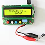 NJPOWER Digital LCD Capacitance meter inductance table TESTER LC Meter Frequency 1pF-100mF 1uH-100H LC100-A + Test clip