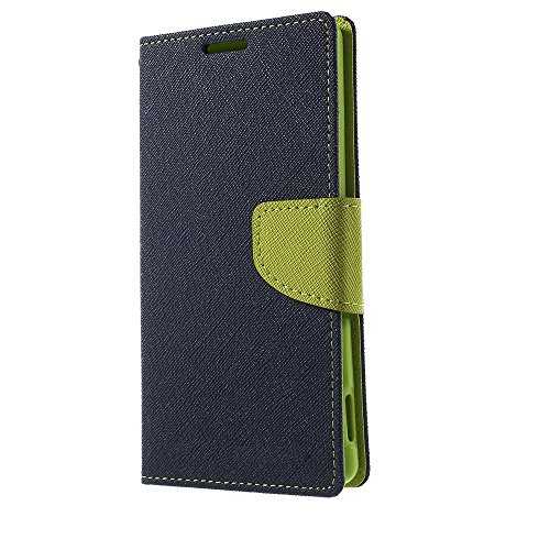 Avzax Samsung Galaxy Core GT I8262 Flip Cover with Magnetic Flap   Blue