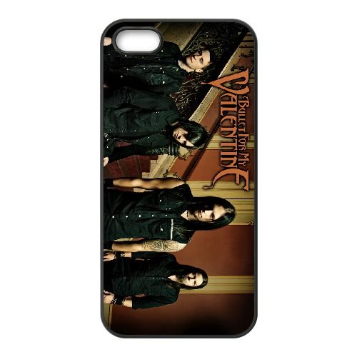 Bullet For My Valentine 001 coque iPhone 4 4S cellulaire cas coque de téléphone cas téléphone cellulaire noir couvercle EEEXLKNBC23941
