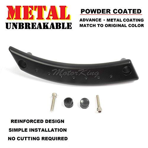 MotorKing UE1002-FL-PCB Metal Reinforced Panel Door Handle Beetle Front Left Satin Black Repair Kit
